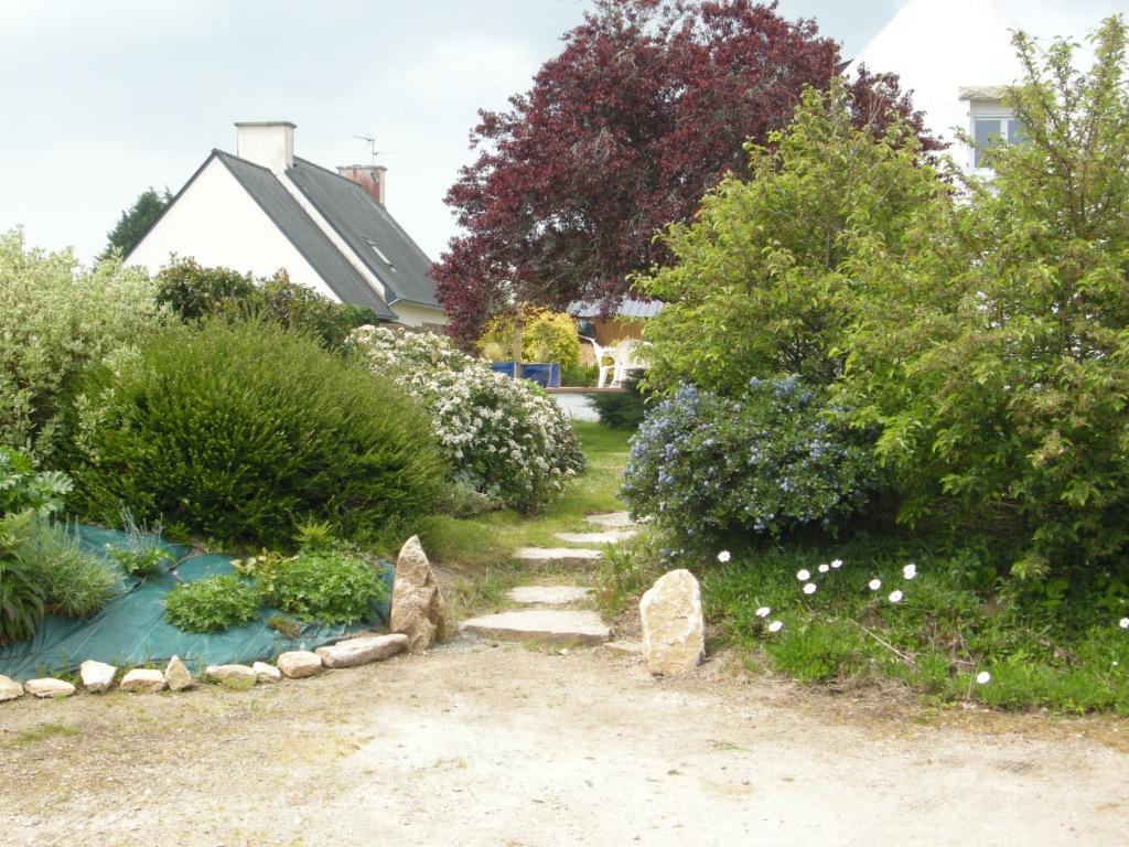 Le jardin Entree de jardin